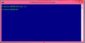 Изменение цвета интерфейса командной строки