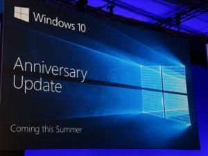 Anniversary Update для Windows 10